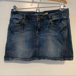 Only | Denim Mini Skirt